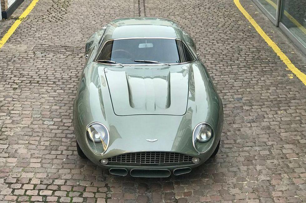 Fenomenalna replika wartego miliony Aston Martin DB4 GT Zagato do kupienia