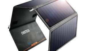 Test ładowarki słonecznej Choetech 24W Solar Charger