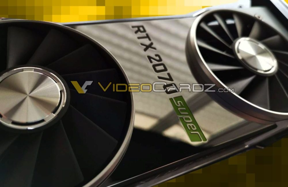 Specyfikacja GeForce RTX 2060 SUPER i RTX 2070 SUPER