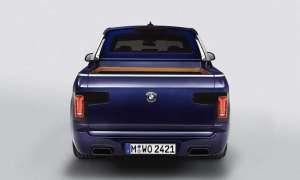 BMW ujawniło swojego pickupa na bazie X7