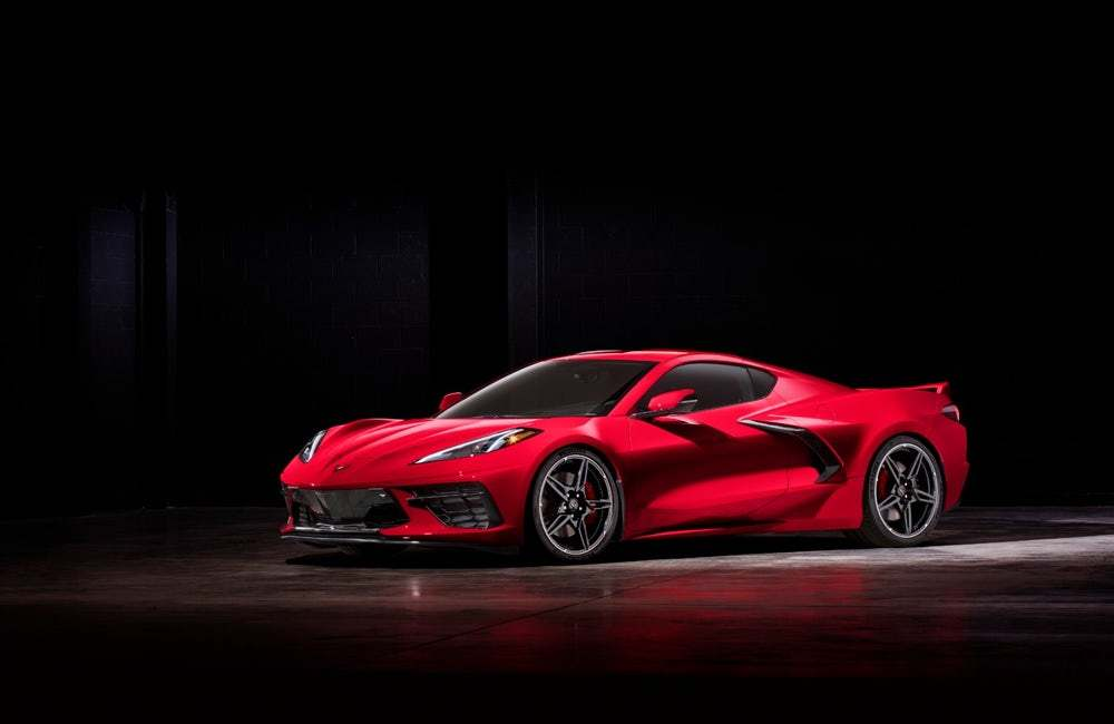 test maksymalnej prędkości nowej Corvette C8