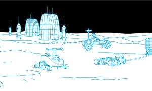 Jak zbudować bazę księżycową w trzech krokach?
