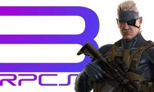 Metal Gear Solid 4 w 4K/60FPS na emulatorze PlayStation 3