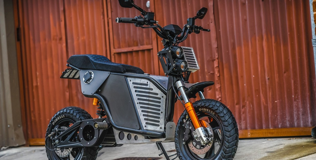 Elektryczny motocykl NKD od Fonzarelli