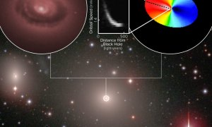 """Teleskop ALMA bada """"strefę wpływów"""" czarnej dziury"""