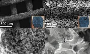 Druk 3D pozwala przekształcać materiały 2D w elektrody
