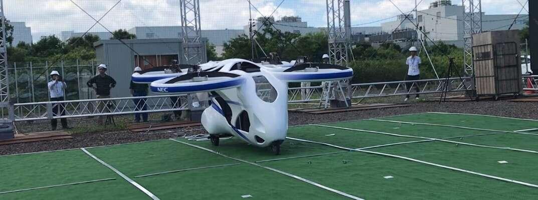 Kolejny producent zaciera różnice pomiędzy latającym samochodem, a wielkim dronem