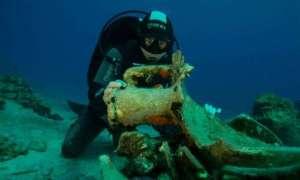 Nurkowie znaleźli 2000-letni cmentarz statków w pobliżu greckiej wyspy