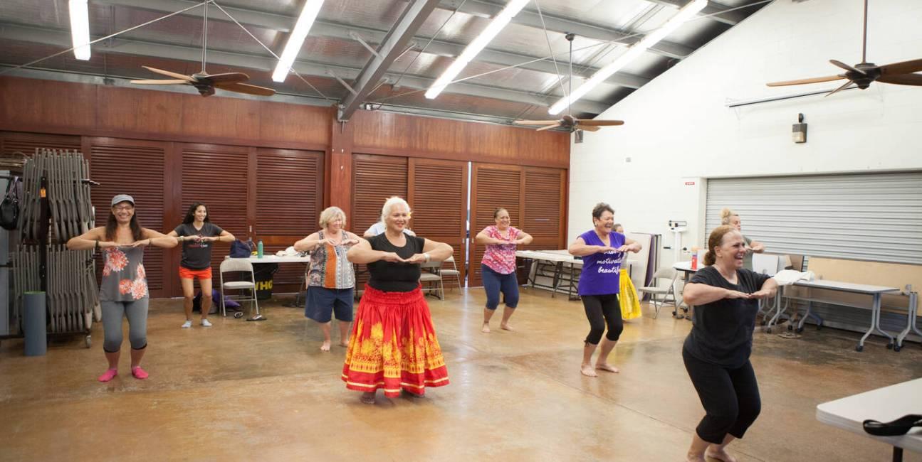 Rdzenni Hawajczycy, hula, taniec hula, Rdzenni Hawajczycy hula, Rdzenni Hawajczycy ciśnienie krwi, ciśnienie krwi hula