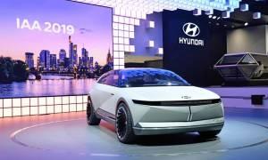 Hyundai sięgnął po retro-sznyt w swoim elektrycznym koncepcie 45