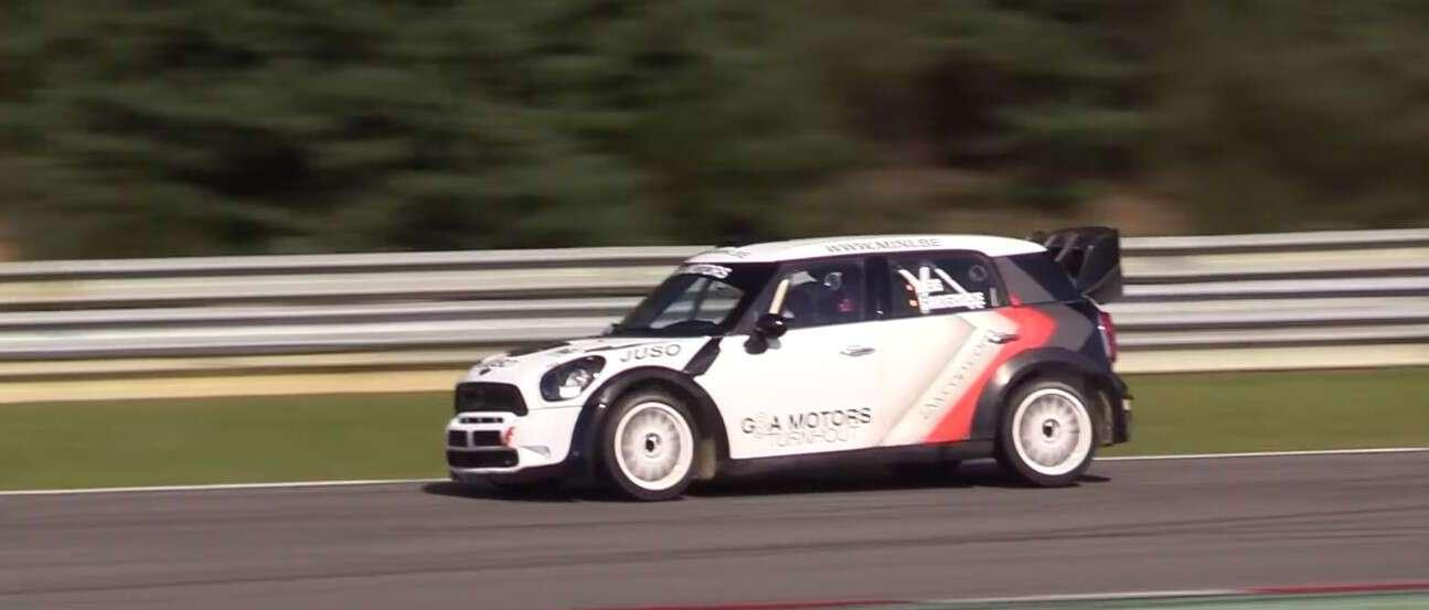 Mini WRC pokazało swoją mini-klasę na torze