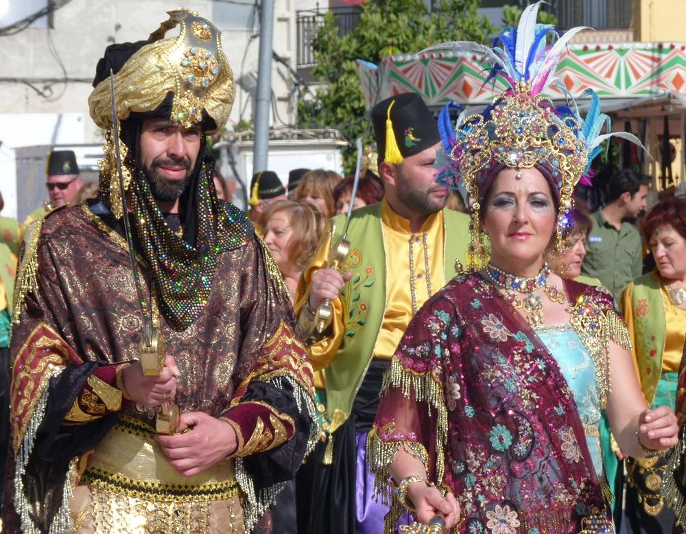 MOORS AND CHRISTIANS FESTIVAL - BENAMAUREL, ANDALUCIA, SPAIN (3/6)