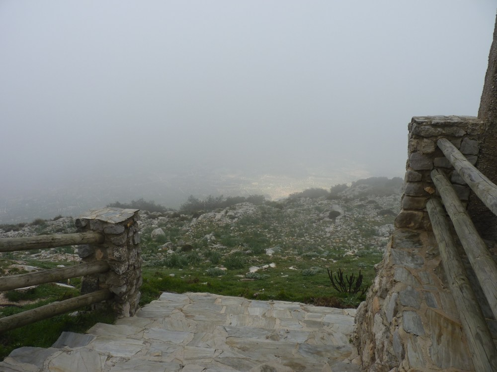 HEAD IN THE CLOUDS AT 1494 METRES ABOVE SEA LEVEL (4/6)