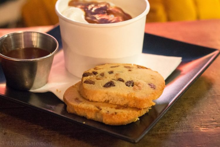 Warm Cookie and Ice Cream