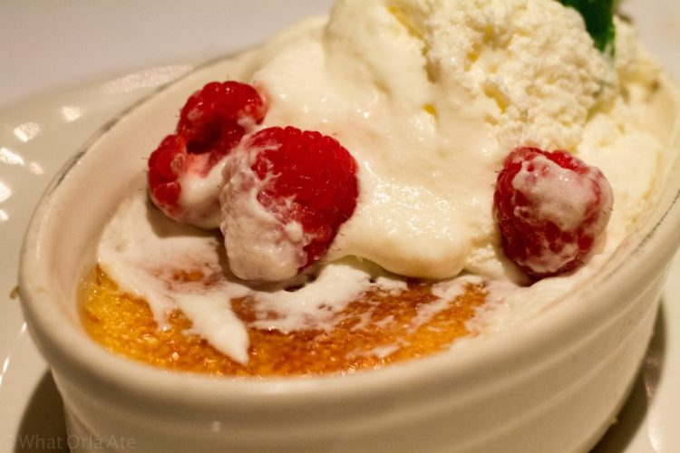 Creme Brulee from Bonefish Grill