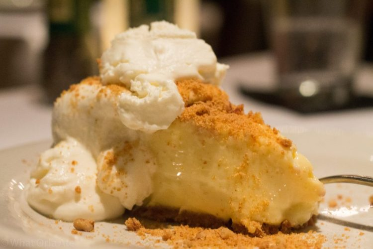 Key Lime Pie from Bonefish Grill