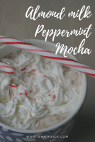 Almond Milk Peppermint Mocha