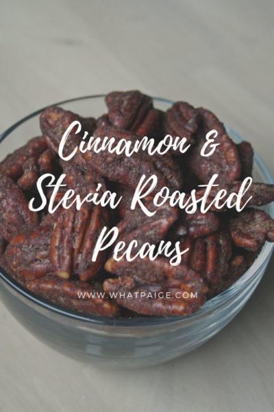Cinnamon & Stevia Roasted Pecans