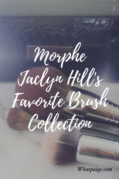 Morphe | Jaclyn Hill's Favorite Brush Collection Review