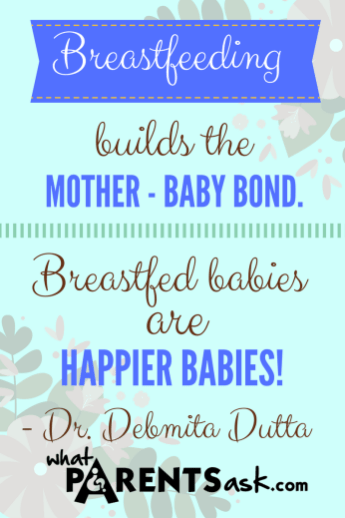 Breastfed babies are happier