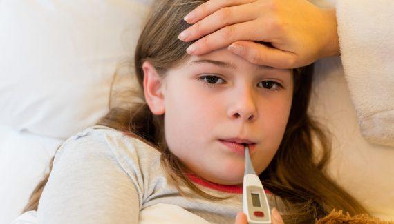 if your child falls sick often he needs to sleep