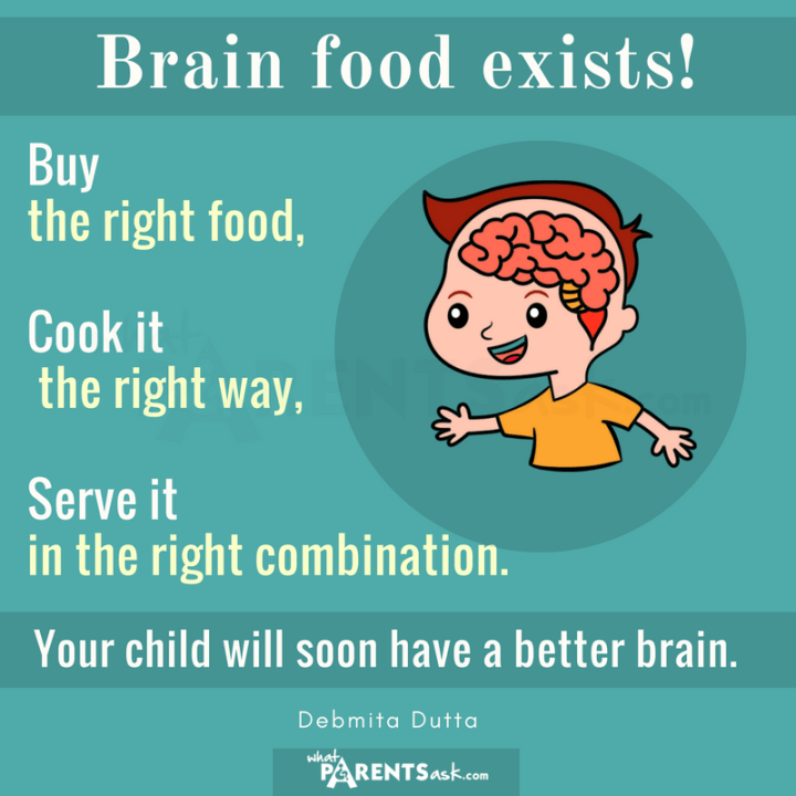 is there something called brain food