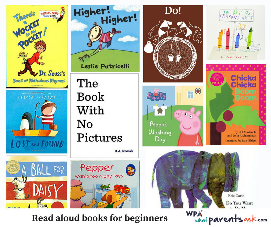 Recommended Read aloud books for babies