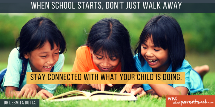 What does your child need from you in school