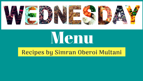 Wednesday Menu cook healthy meals every day