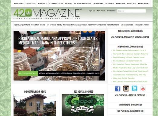 Image result for 420 magazine forums