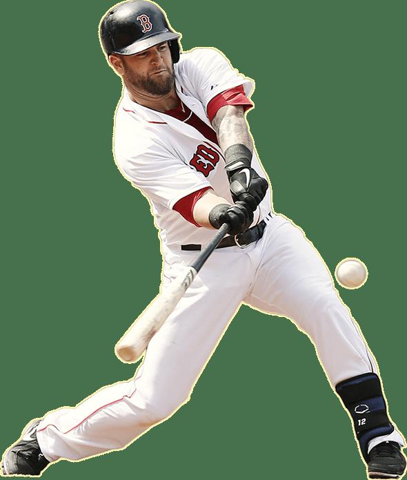 mike-napoli-bat-batting-gloves-cleats