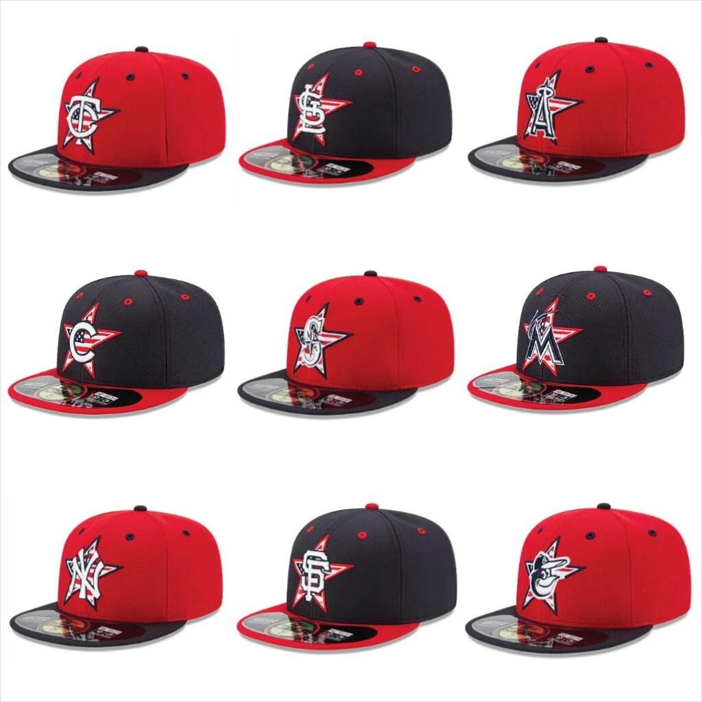 new era stars & stripes hats