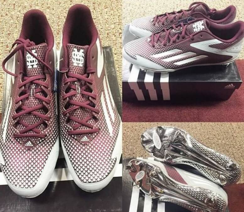 Mississippi State adidas Cleats