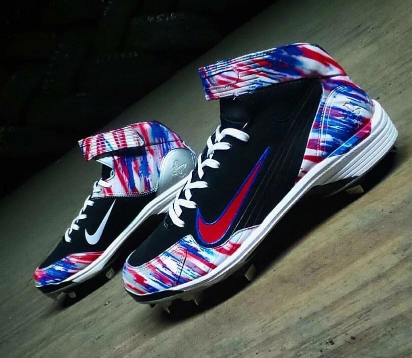 Rougned Odor Nike Huarache LWP90 Cleats
