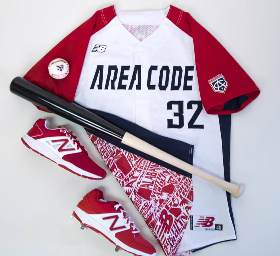 Nationals Jerseys Area Code Games