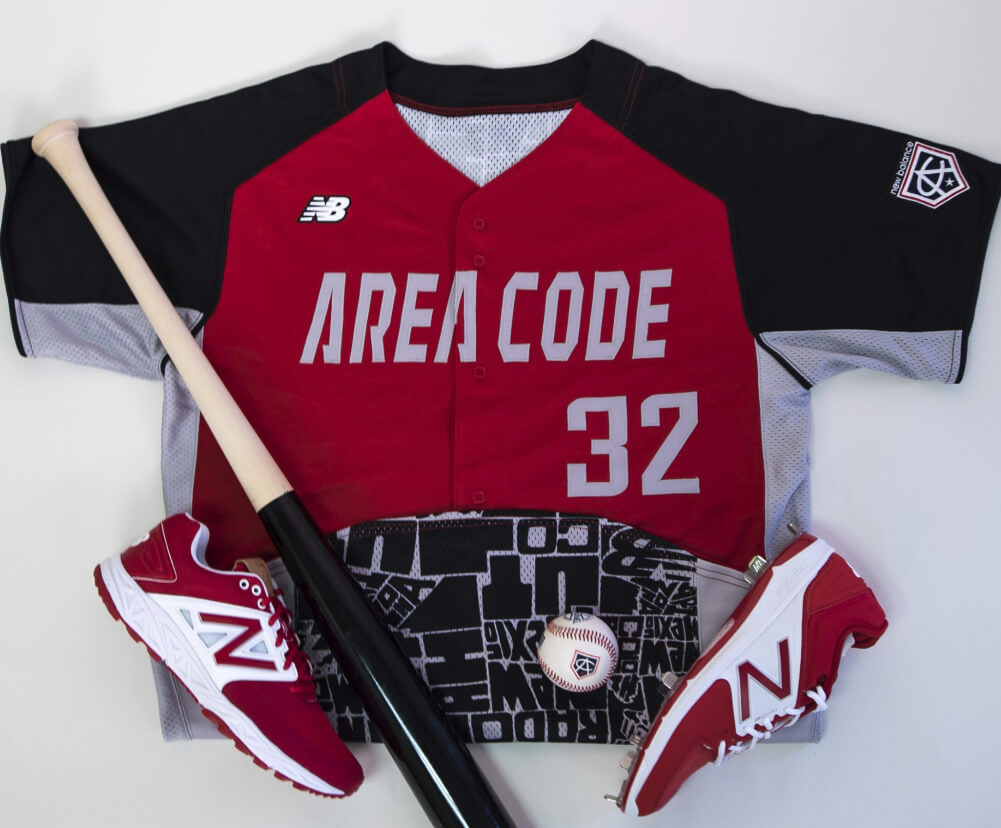 Reds Jerseys Area Code Games