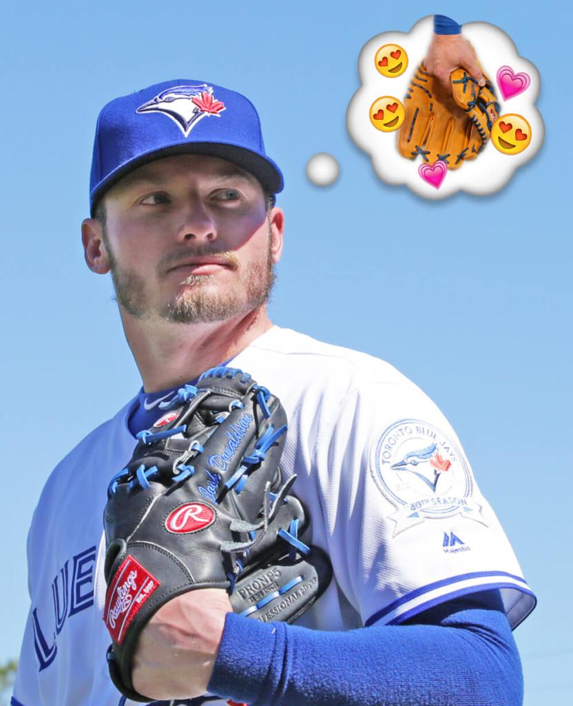 Josh Donaldson Glove Affair
