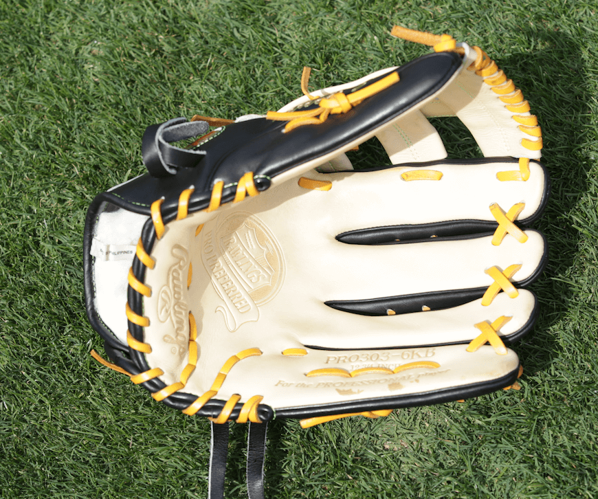 Starling Marte Inside Rawlings Glove