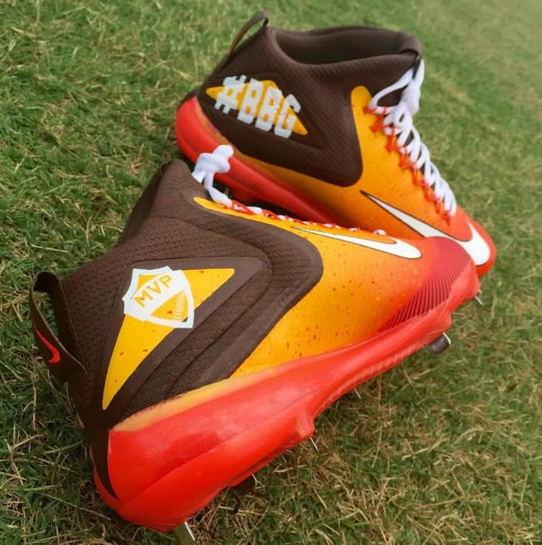 Dominic Smith Nike Trout 3 Cleats 2