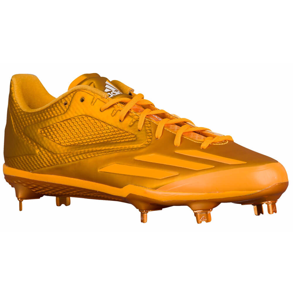 adidas afterburner 3 cleats orange
