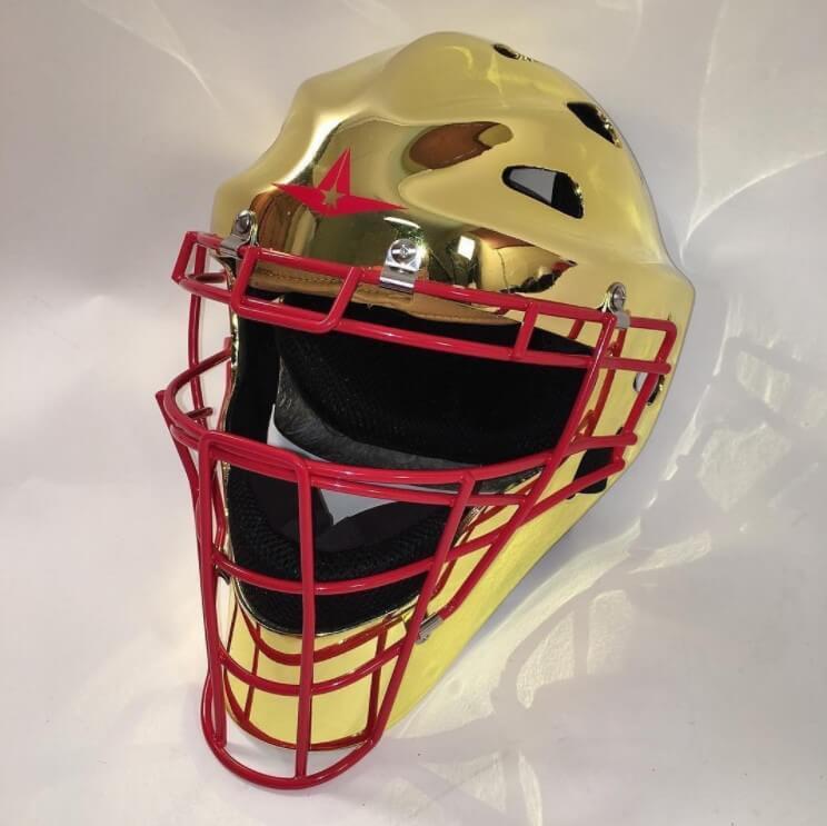 Yadier Molina Gold Mask