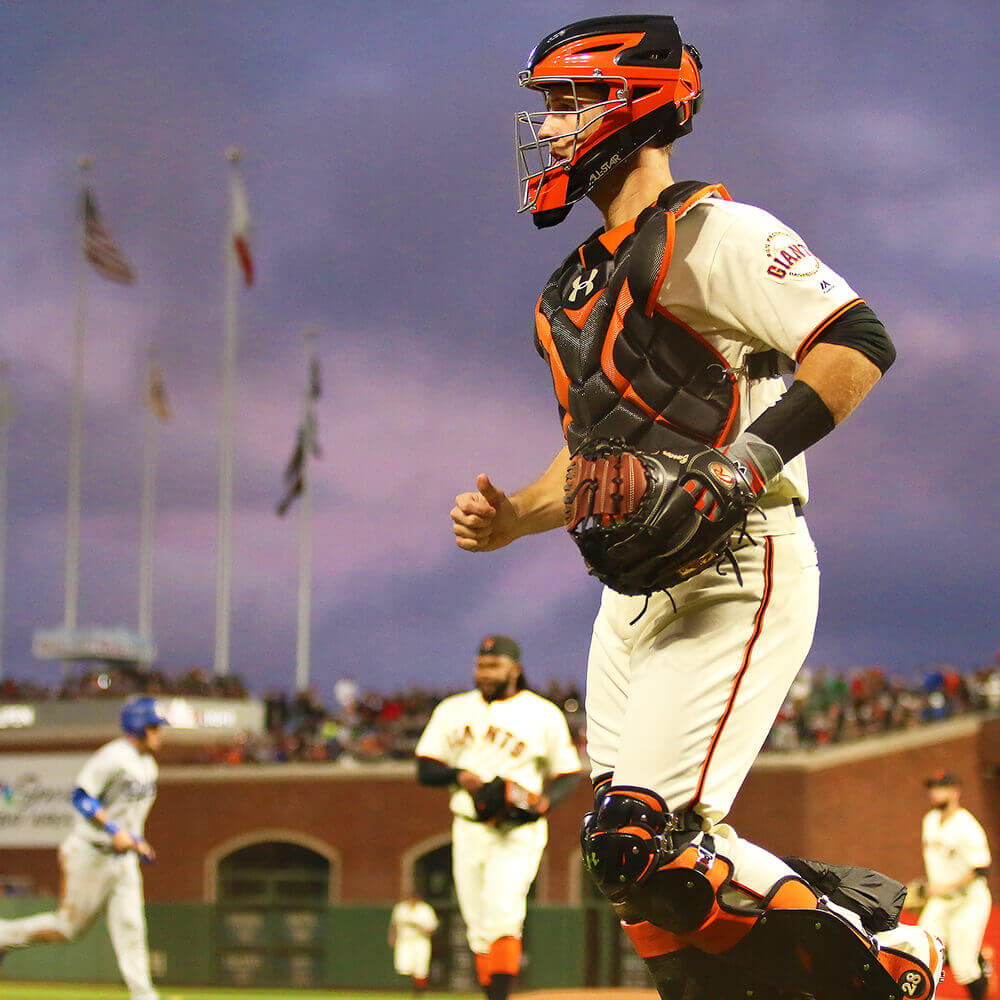 Buster Posey Rawlings Gold Glove