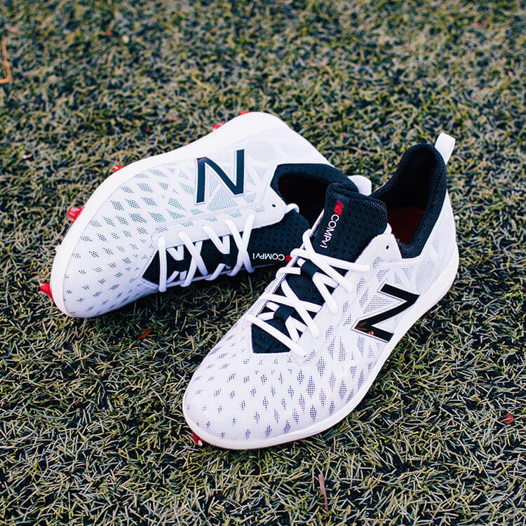 85fa64d7a548 What Pros Wear: New Balance COMPv1 Cleats Offer New Plate Designed ...