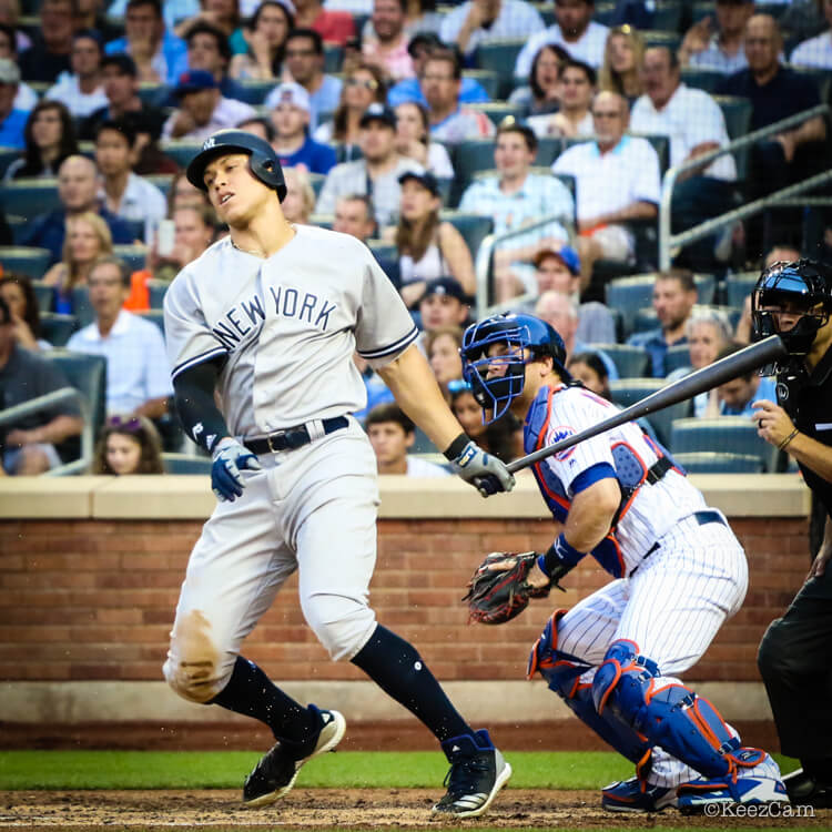 """c6a1b862e98f According to adidas, Aaron Judge and Marcus Stroman actually wear an Icon 4  Bounce """"Hybrid,"""" which borrows the mesh upper from the Icon 4 Boost and the  ..."""