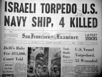 USS Liberty attacked by Israel