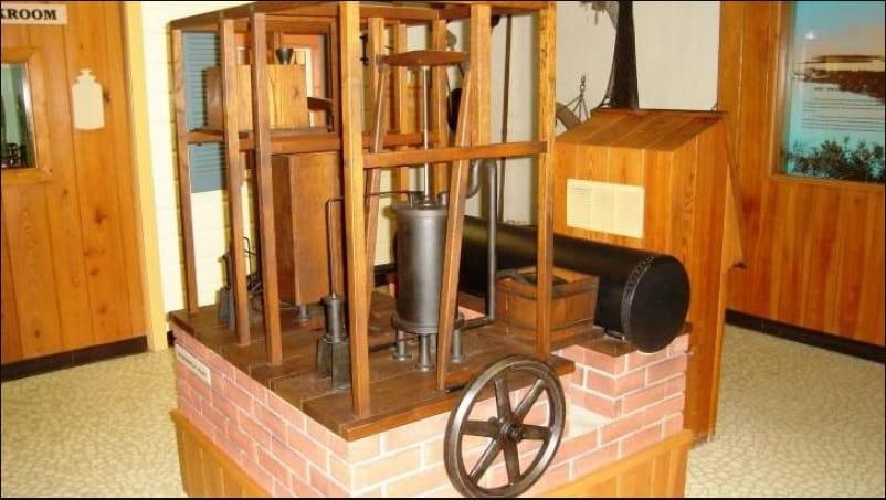 Dr. John Gorrie's Ice Making Machine