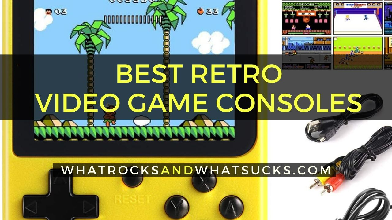RETRO VIDEO GAME CONSOLES