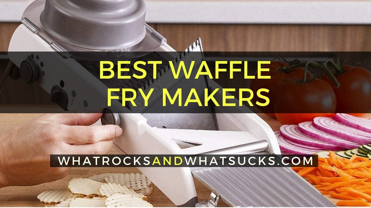 WAFFLE FRY MAKER