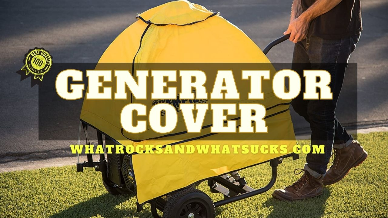 GENERATOR COVER WHILE RUNNING
