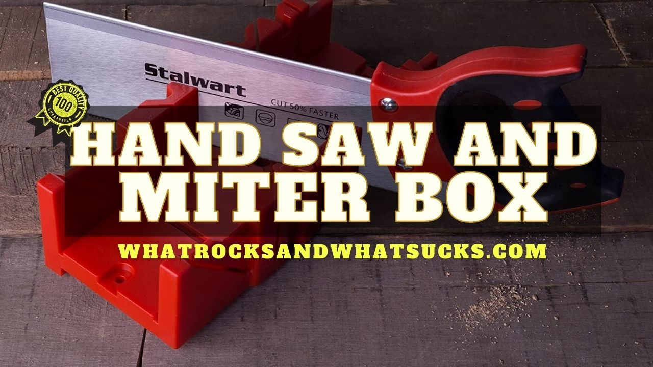 HAND SAW AND MITER BOX